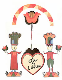 ole-and-lena-wedding-art