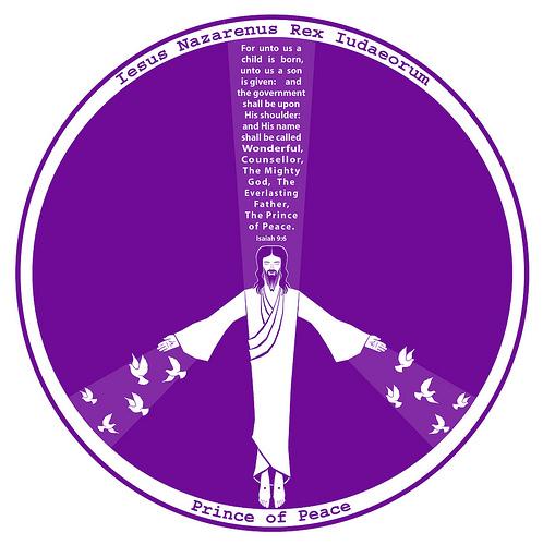 jesus-in-peace-sign